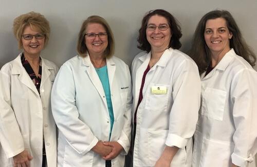 Mavis W. Garrett, Au.D., CCC-A, Dr. Lauren Matsko, Dr. Krystin Farrell